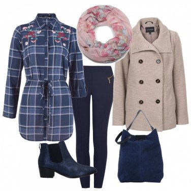 Outfit Camicia lunga mon amour