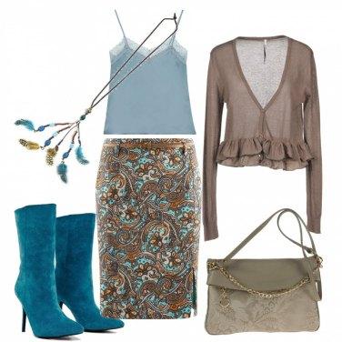Outfit Fantasia e colori