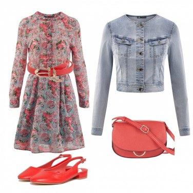 Outfit La giornata in rosso