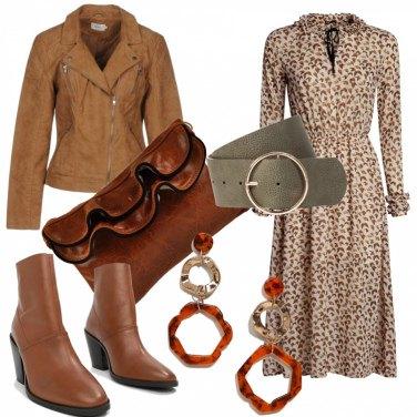 Outfit Vestito lungo da giorno