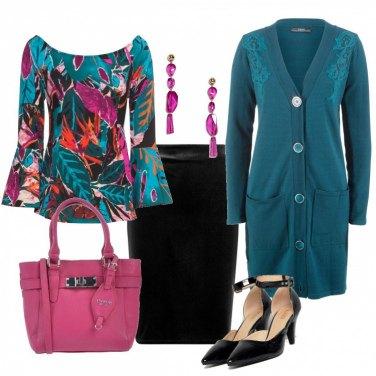 Outfit Fucsia per l\'ufficio