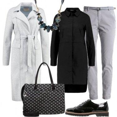 Outfit Una collana e in ufficio