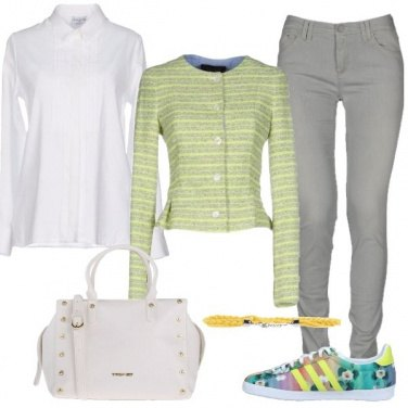Outfit La scarpa colorata