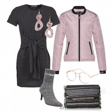 Outfit Miniabito tricot