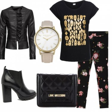 Outfit Rock in love