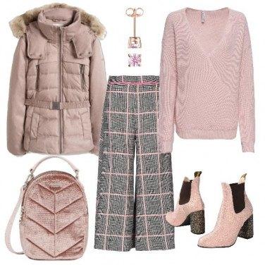 Outfit Pomeriggio in rosa