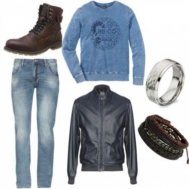 Outfit Biker Rock #27