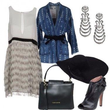 Outfit Giacca a kimono
