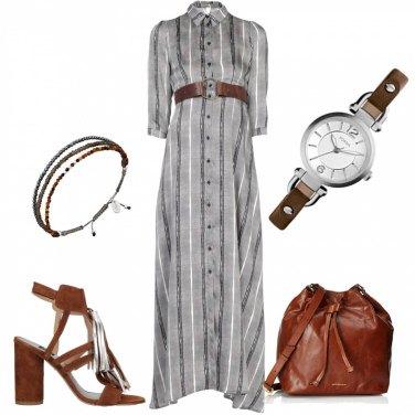 Outfit Il vestito lungo