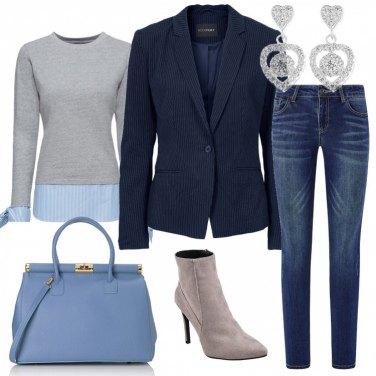 Outfit Trendy chic in ufficio