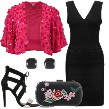Outfit Elegante in denim
