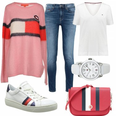Outfit Tommy Hilfiger total look