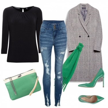 Outfit Tacco verde