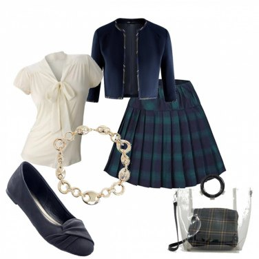 Outfit Collegiale