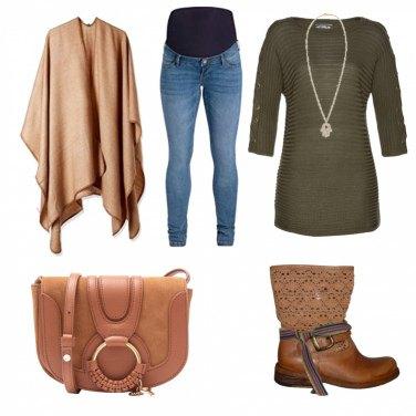 Outfit Mamma alla moda