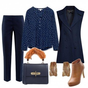 Outfit Maxi orecchini a foglia