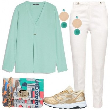 Outfit Pon-pon e cristalli