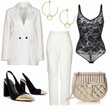 Outfit Lady in white