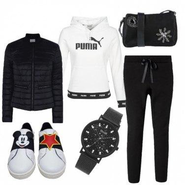 Outfit Sportiva e fashion