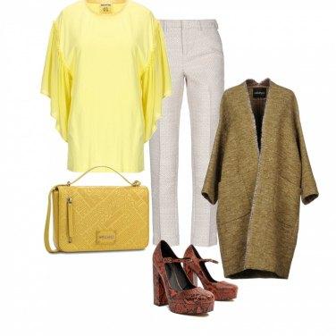 Outfit Giallo con grinta#2
