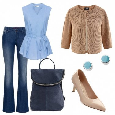Outfit Jeans e giacca