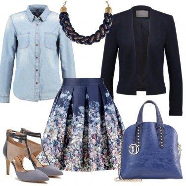 Outfit Romanticamente denim