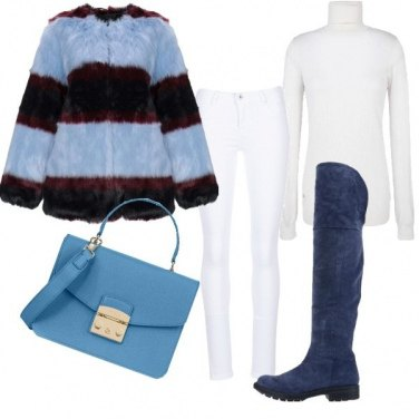 Outfit Bianco d\'inverno