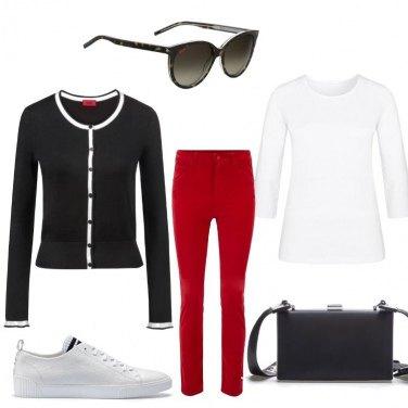 Outfit Con tre colori