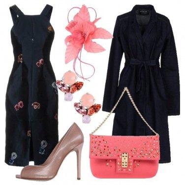 Outfit Un fiore sul denim