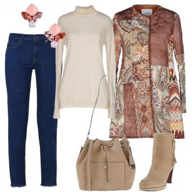 Outfit Fantasia cachemire