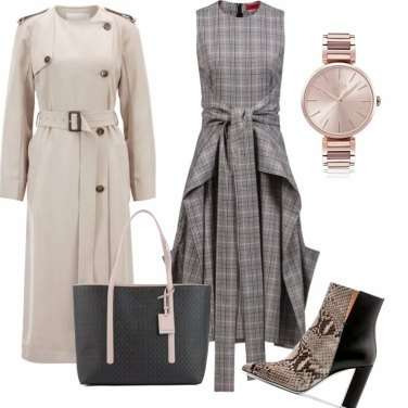 Outfit Trendy office griffato