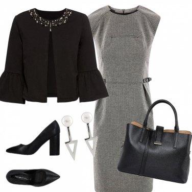Outfit Elegante di nero