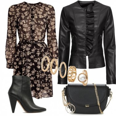 Outfit Tacco a punta chic e glam