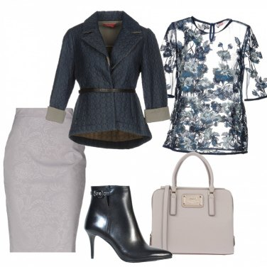 Outfit Denim trapuntato