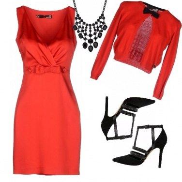Outfit E\' gradito l\'abito rosso