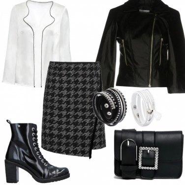 Outfit Rock in ufficio