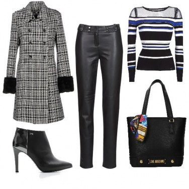Outfit Tracollina Moschino
