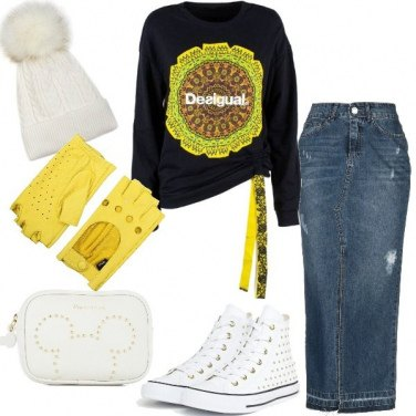 Outfit Felpe trendy