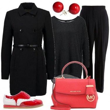 Outfit Un pizzico di rosso