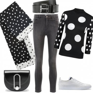 Outfit Pois chic...