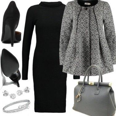 Outfit Grigio elegante