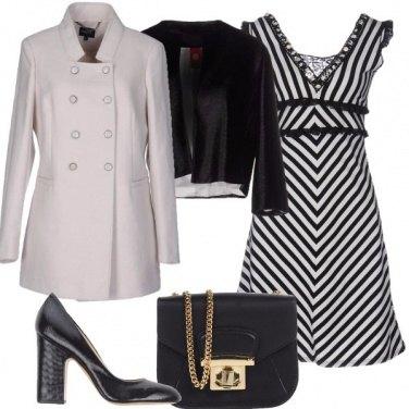 Outfit Bianco e nero eleganti