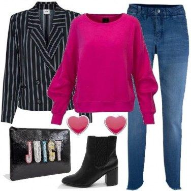Outfit Trendy con la felpa
