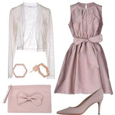 Outfit Righe da sera delicate