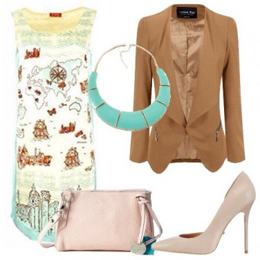 Outfit Il vestito con la mappa