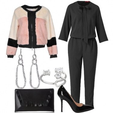 Outfit Dress code Pink & Black