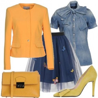 Outfit Farfalle e fiocchi
