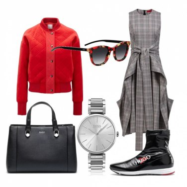 Outfit Street style Hugo Boss