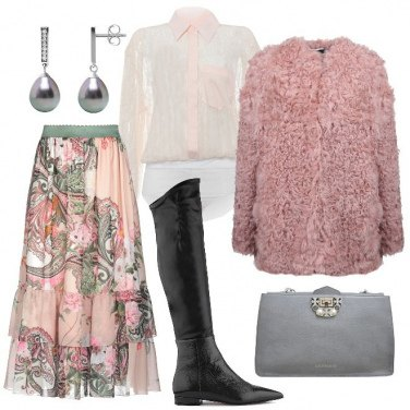 Outfit Belle perline