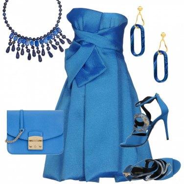 Outfit Tono su tono per una cerimonia